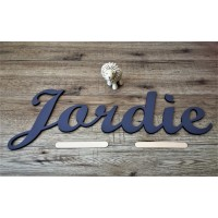 Large Calligraphy Wood Name