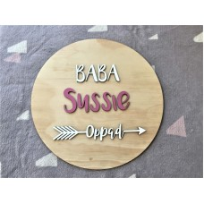 Customized Wood plaques - Small