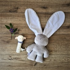 Gift Set - Lily n Jack Bunny and Lucas Lamb Squeaker