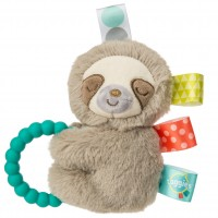 Taggies Molasses Sloth Teether Rattle - 13cm