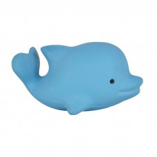 Natural Rubber Dolphin Teether/ Bath toy and rattle
